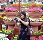 PAKISTAN-LAHORE-SPRING FLOWER SHOW