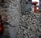 NEPAL-LALITPUR-EARTHQUAKE-AFTERMATH