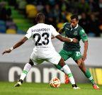 (SP)PORTUGAL-LISBON-FOOTBALL-UEFA EUROPA LEAGUE-SPORTING-WOLFSBURG