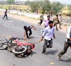 Lucknow: Youth run over by a tractor