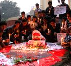 Lucknow: Candlelight vigil to condemn attack on Peshawar school