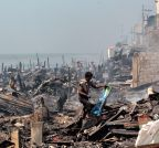 PHILIPPINES-MANILA-FIRE AFTERMATH