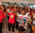 Maputo: Filipe Nyusi's supporters celebrate victory