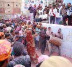 Mathura: `Lathmaar Holi`