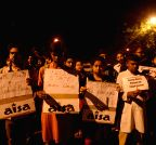 SDPI and AISA protest against excution of Yakub Memon
