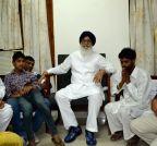 Moga: Punjab CM visits the family of Moga bus tragedy victim