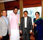 Mumbai: Abhishek Bachchan calls on Maharashtra Governor