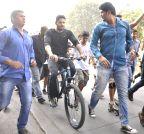 Mumbai: Sidharth Malhotra at Radio Mirchi's equal streets campaign