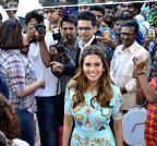 Mumbai: Esha Gupta inaugurates a footwear store