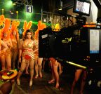 Mumbai: Rakhi Sawant shoots for Video album Jaan Bigdela