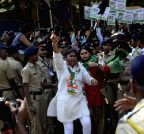Mumbai: Congress  demonstration