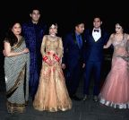 Mumbai: Wedding reception of Tulsi Kumar and Hitesh