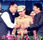 Mumbai:  Maharashtra CM's swearing-in ceremony