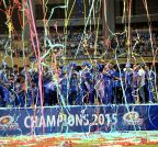 Mumbai: Mumbai Indians celebratation at Wankhede