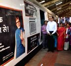 Mumbai: Tuberculosis awareness train flagged-off from Churchgate