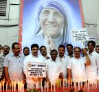 Mumbai: NCP pays tribute to  Mother Teresa
