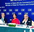 Mumbai: Nirmala Sitharaman during CII programme