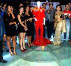 Mumbai: Launch of Dress and anthem of BCL team Kolkatta Babu Moshai