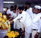 Mumbai: Ramvilas Paswan visits Chaitya Bhoomi