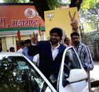 Mumbai: Babul Supriyo at BJP office
