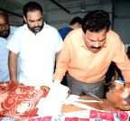 Raj Kumar Verka meets the people injured in Dinanagar terrorist attack