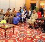 New Delhi: Gujarati families from Singapore calls on Modi