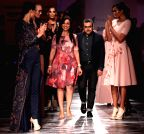 New Delhi: Amazon India Fashion Week - Pankaj and Nidhi