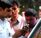 New Delhi: Breathalyzer test