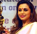 New Delhi: Rani Mukerji receives Nirbhoy Didi Award (Batch -2)