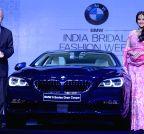 New Delhi: Sonakshi Sinha launches BMW 6 Series Gran Coupe