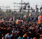 New Delhi: BJP rally