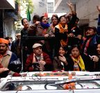 New Delhi: Election rally of Kiran Bedi