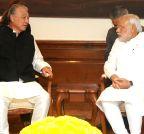 New Delhi: Yohei Sasakawah calls on Narendra Modi