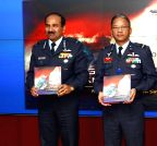 New Delhi: Arup Raha release a book - `A Few Good Men and the Angry Sea`