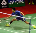 New Delhi: Yonex Sunrise Indian Open Badminton Championship - RMV Gurusaidutt vs Xue Song
