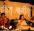New Delhi: Bhakti Sangeet Festival 2015 - Arshad Ali Khan, Sumitra Guha