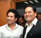 New Delhi: Sachin Tendulkar calls on Sports Minister