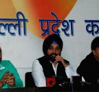 New Delhi: Delhi Congress press conference