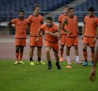 New Delhi:  Delhi Dynamos practice session