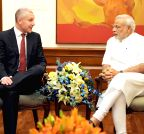 New Delhi: Olof Faxander calls on PM Modi