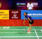 New Delhi: Yonex Sunrise Indian Open Badminton Championship - Saina Nehwal