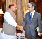 New Delhi: Japan Ambassador calls on the Rajnath Singh