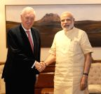 New Delhi: Jose Manuel Garcia-Margalloy Marfil calls on the PM Modi