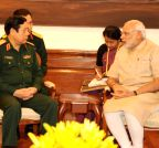 New Delhi: General Phung Quang Thanh calls on PM Modi
