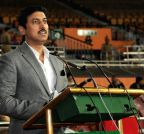 New Delhi: Inaugural ceremony of the 63rd All India Police Wrestling Cluster 2014-15 - Rajyavardhan Singh Rathore