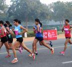 New Delhi: Airtel Delhi Half Marathon (Batch -2)