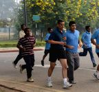 New Delhi:  'Run For Unity'  - Rashtrapati Bhavan