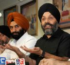 New Delhi: DSGMC press conference - Manjit Singh GK