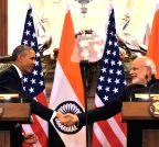 New Delhi: Modi-Obama Joint Press Interaction