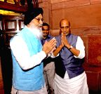 New Delhi: Punjab CM with Rajnath